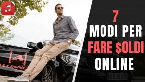 7 modi per fare soldi online